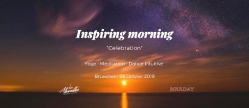Inspiring Morning Celebretion